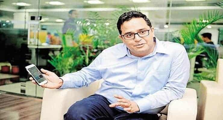 Paytm Founder Vijay Shekhar Sharma youngest Indian Billionaire