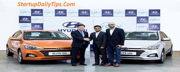 Hyundai Partners with Self Drive Car Rental Startup Revv