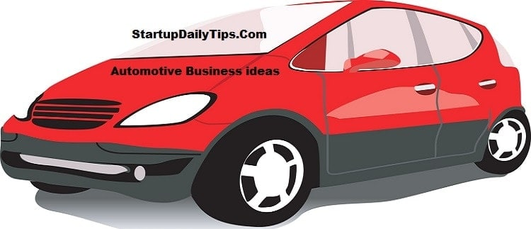 automotive car business ideas